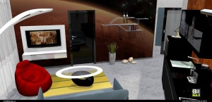 Zajímavé realizace interiérů