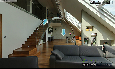 Virtuální prohlídka bytu