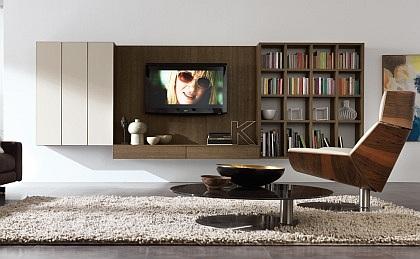 Obývací stěny pro LCD TV